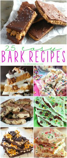 25 Easy Bark Recipes
