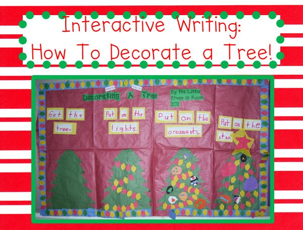 how to decorate a tree: interactive