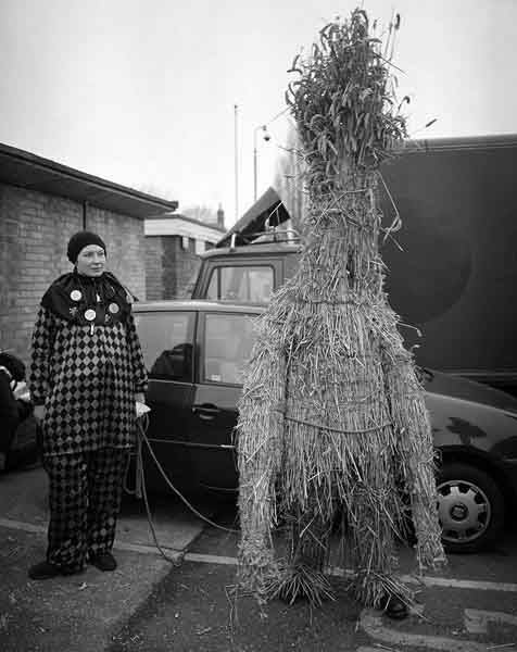 Whittlesea Straw Bear, Whittlesea, Cambrigeshire (traditional British folk figure). Photo by James Pearson-Howes