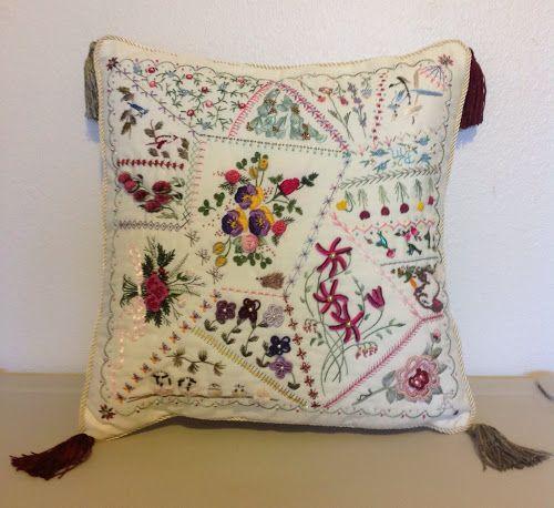 Threading Along: Crazy Brazilian! embroidery