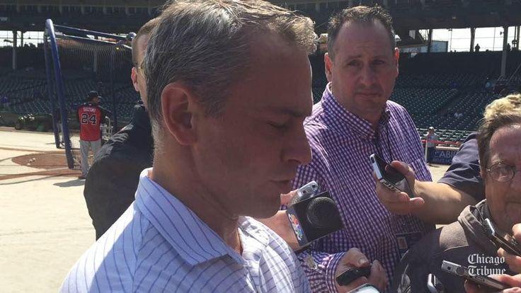 Jed Hoyer: Cubs 'never got deep into' acquiring Justin Verlander