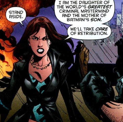and a selfesteem to match -   talia al ghul