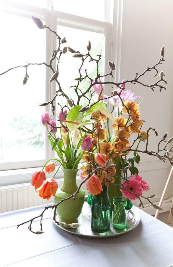 Deze prachtige bloemen komen bij de Wunderkammer in Amsterdam vandaan