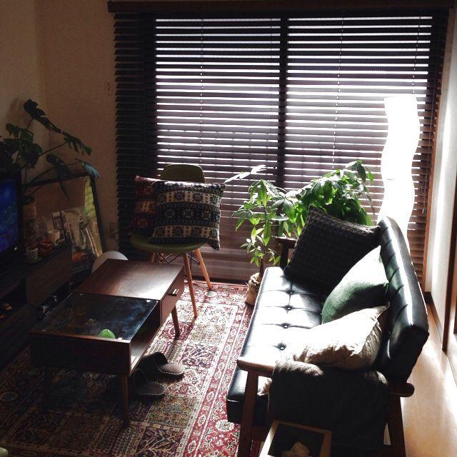 カリモク60/大掃除/カリモク60/IKEA ラグ/ポスター/ソファ/椅子…などのインテリア実例 - 2013-12-28 09:57:12 | RoomClip(ルームクリップ)