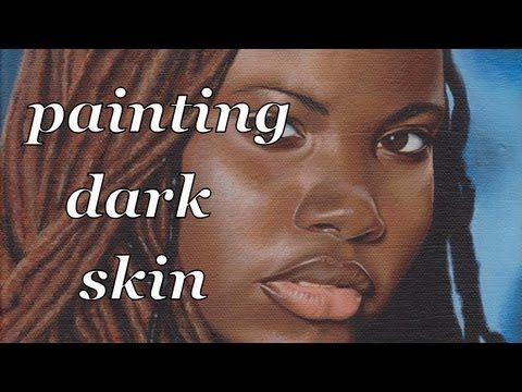 It's really exciting when you finally get dark skin right. I made this video to help you do just that. Here are some tips: Tip 1) simplify what you are seein...