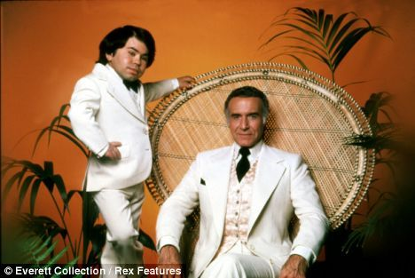 Fantasy Island (1977–1984)  Cast and history: http://www.imdb.com/title/tt0077008/  Theme music: http://youtu.be/1x_QbVDlLbI