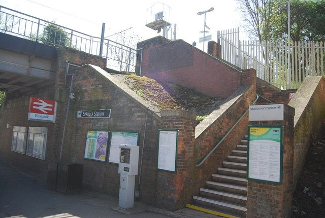 Birkbeck Railway Station (BIK) in Birkbeck