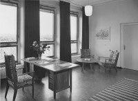 Medische Faculteit van de R.K. Universiteit, St. Radboud Ziekenhuis M 608, dagverblijf herstellende patiënten, 1956.