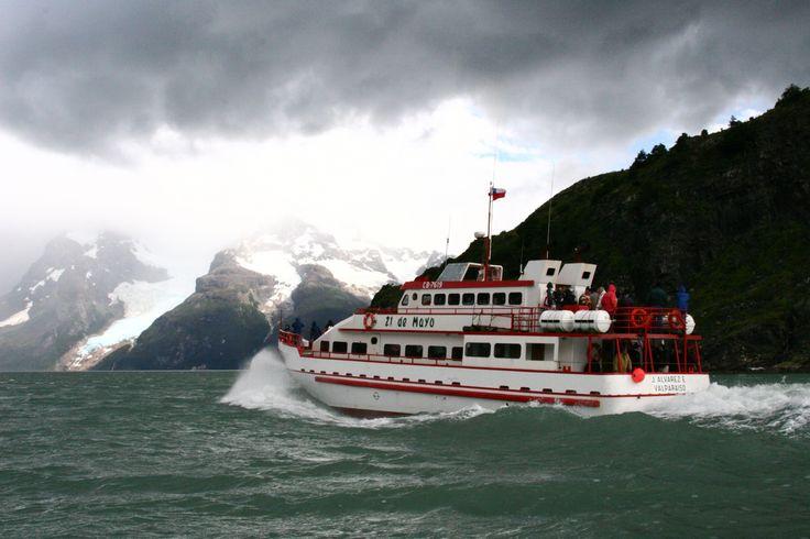 21 May - Navegación Glaciares Balmaceda & Serrano