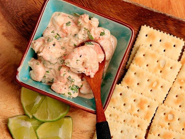 Colombian shrimp ceviche