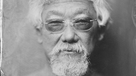 How a Montreal photographer convinced David Suzuki to take his shirt off