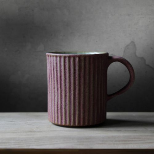 The Striped Stone Mug #Mugs