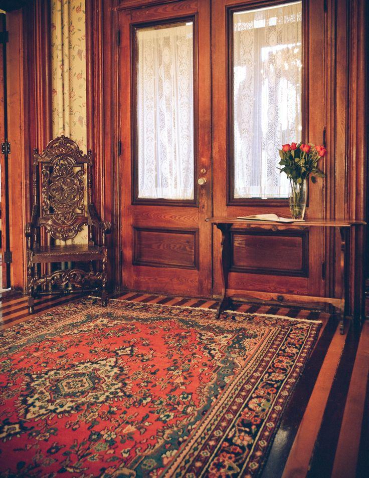 Main Entrance, Queen Anne Inn- Annapolis Royal.