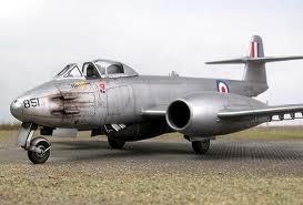 Retro Brit: Gloster Meteor (Meatboxes) RAAF 77. Squadron Korean War