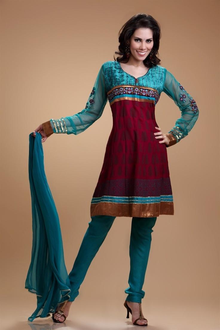 Farha | Design No. 1001 | Churidar Suits