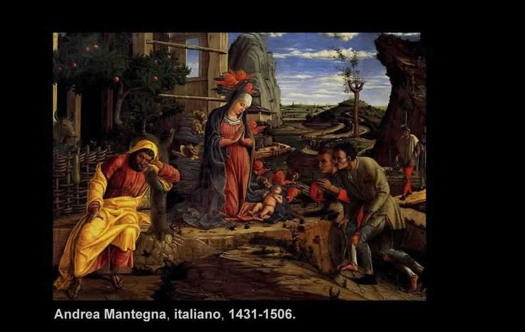 Andrea Mantegna (1431-1506)  Nació en Isola de Carturo, Padova, Italia