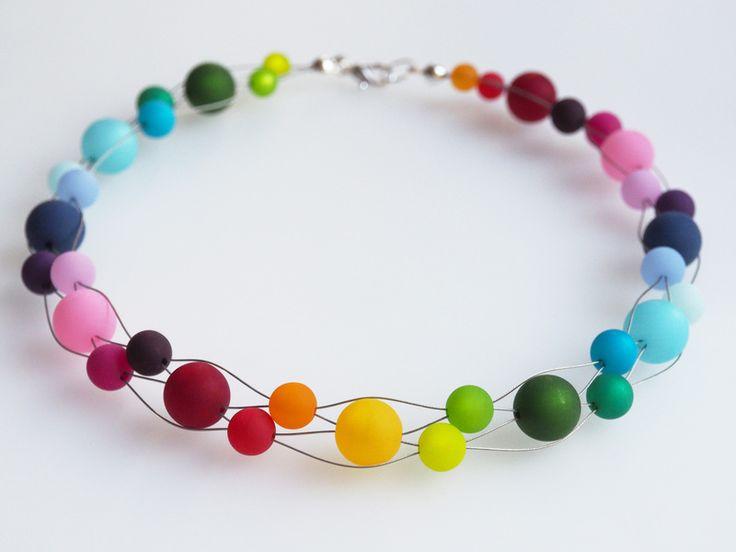 Modeschmuck kette bunt  Die besten 25+ Halsketten Ideen auf Pinterest | Ketten, Collier ...