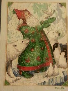LaGrif Bijoux Geometrie e altre creazioni by Maria Cristina Grifone. Babbo Natale polare. Handmade by LaGrif