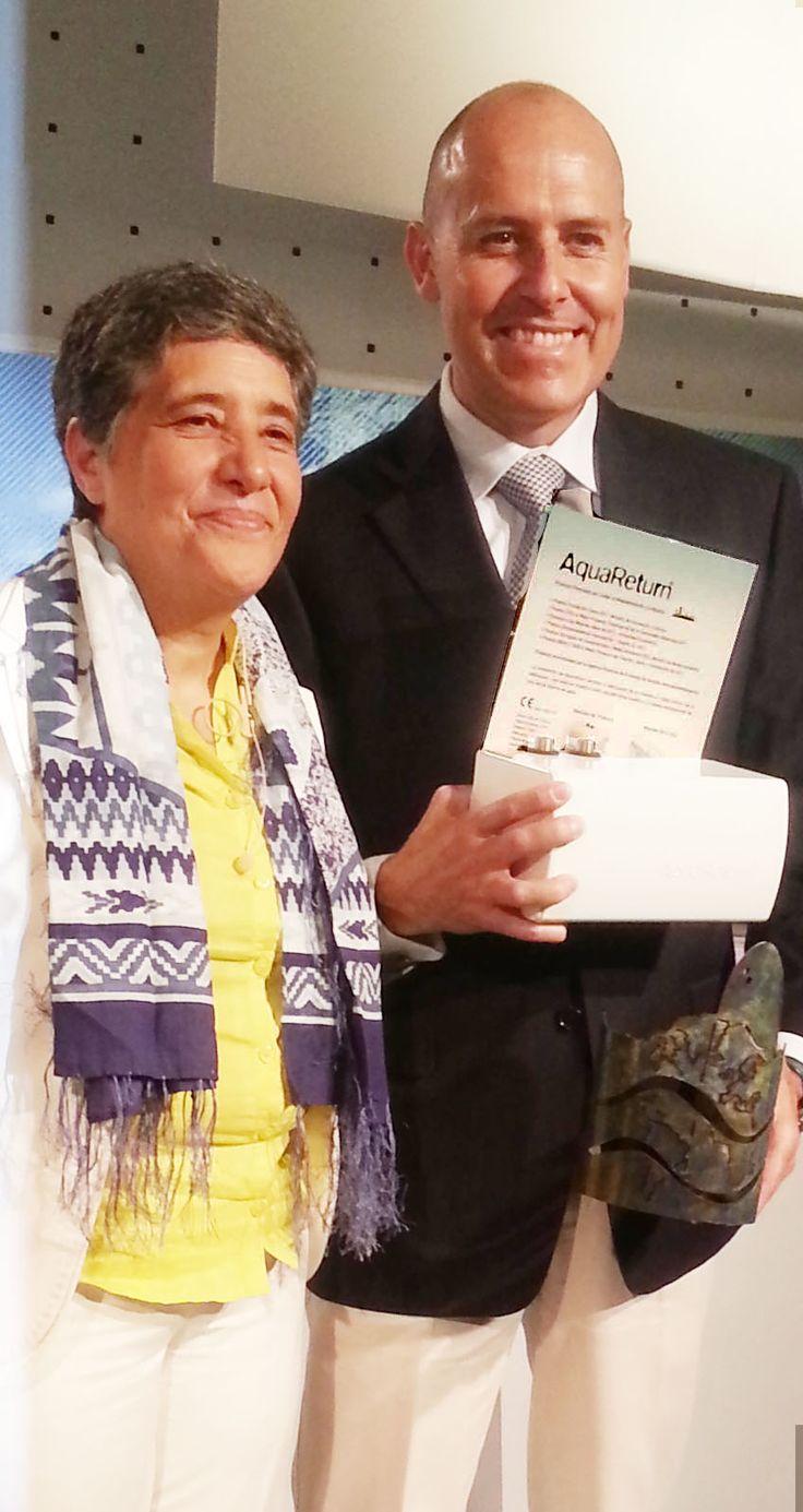 Josefina Maestu, Directora de proyectos de agua de la ONU felicita a AquaReturn