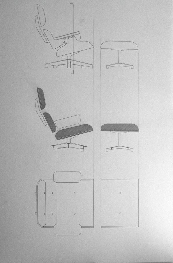 Skizze Lounge Chair