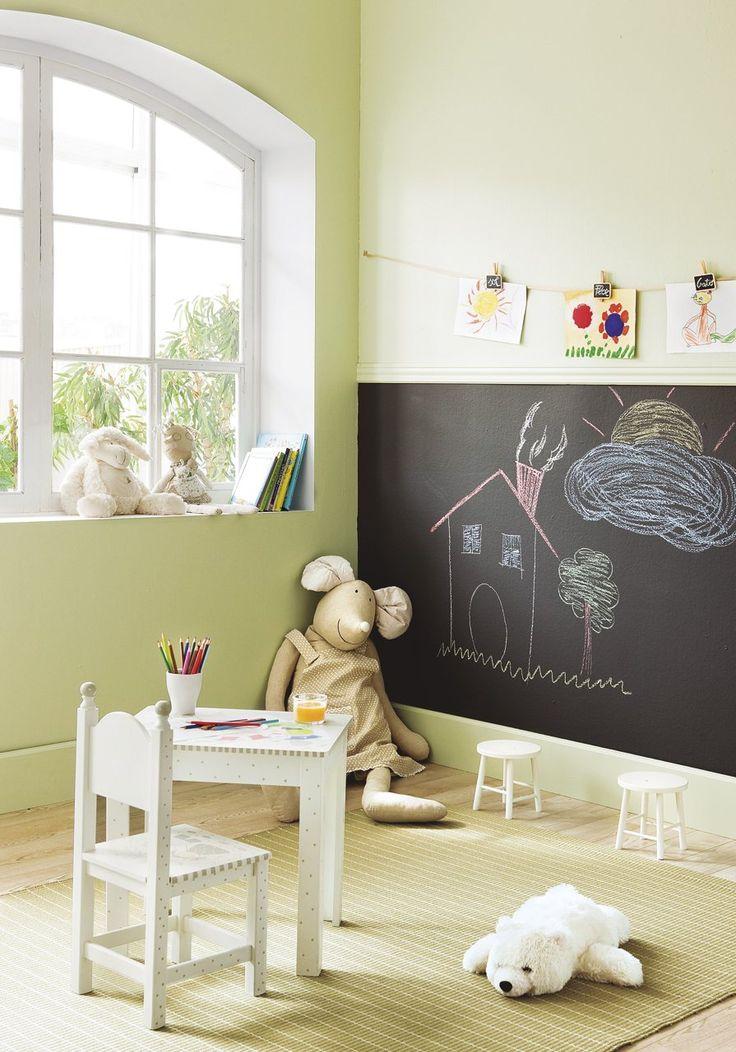 Ideas creativas para decorar su habitaci n - Pizarras para decorar ...
