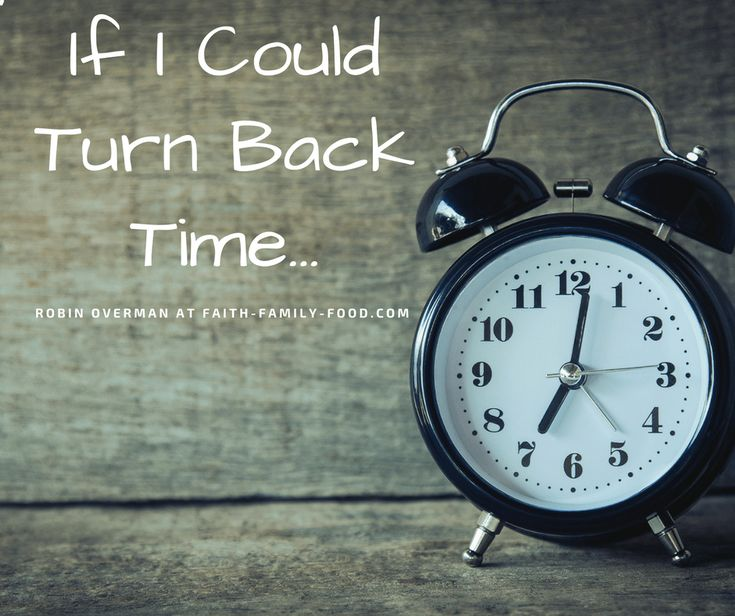 Turn Back Clock Quotes