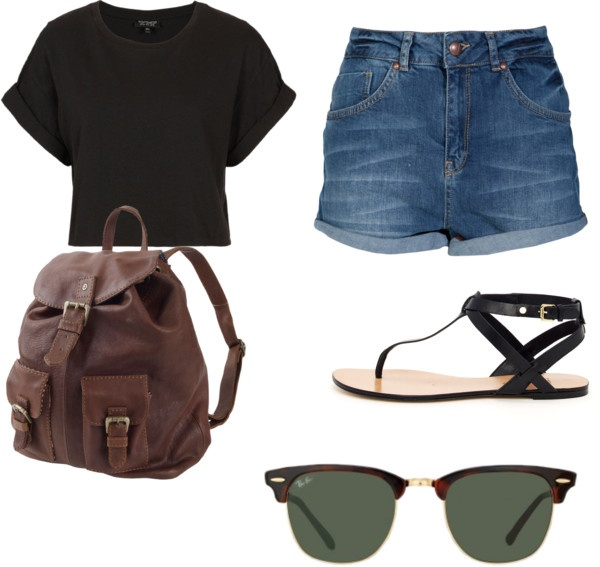 """outfit for an amusement park"" by lindsey-rose-wilson on Polyvore #mysuitcase #packinglist"