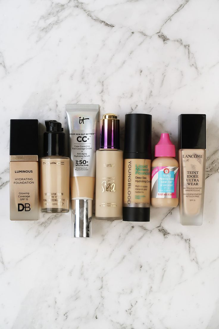 Foundation Shade Ranges - How Inclusive Is My Collection?