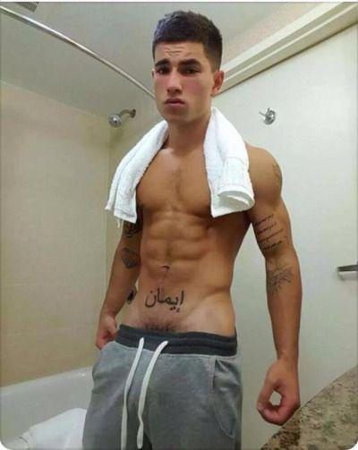Shirtless men masturbation and brown boy 8
