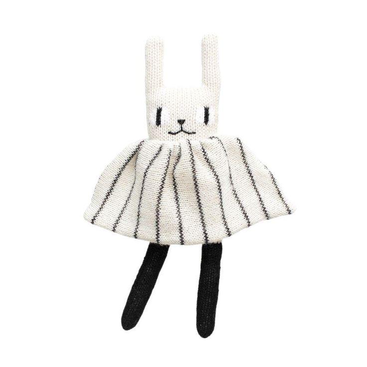 Main Sauvage: Rabbit (B&W) – Bon Tot