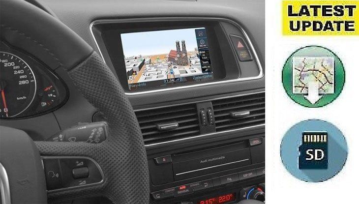 Audi MMI 3G High Plus 2019 HN+ 3GP Sat Nav Map Update Europe A4/A5