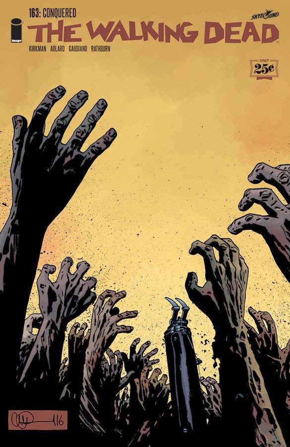 The Walking Dead #163: Confira a capa pós Guerra dos Sussurradores