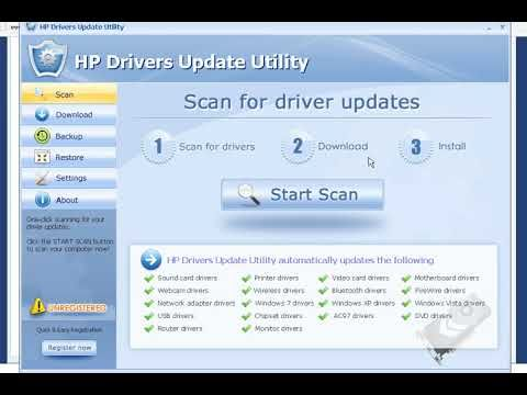 HP hewlett packard Printers USB Drivers Free Download Update