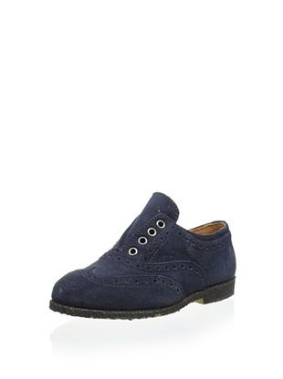 64% OFF Gallucci Kid's Laceless Oxford (Blu)