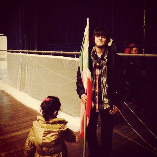 Me & The Chechen Flag