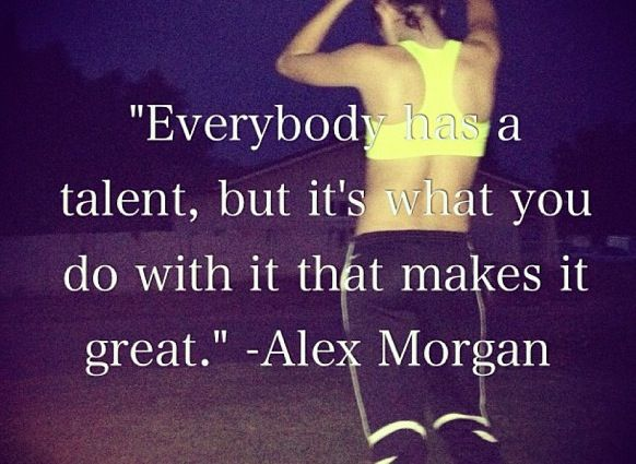 #Soccer #Quotes - Alex Morgan