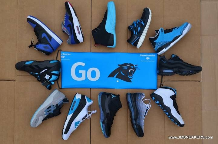 SHOES TO WEAR WITH PANTHERS GEAR.
