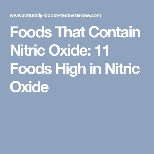 Foods That Contain Nitric Oxide: 11 Foods High in Nitric Oxide