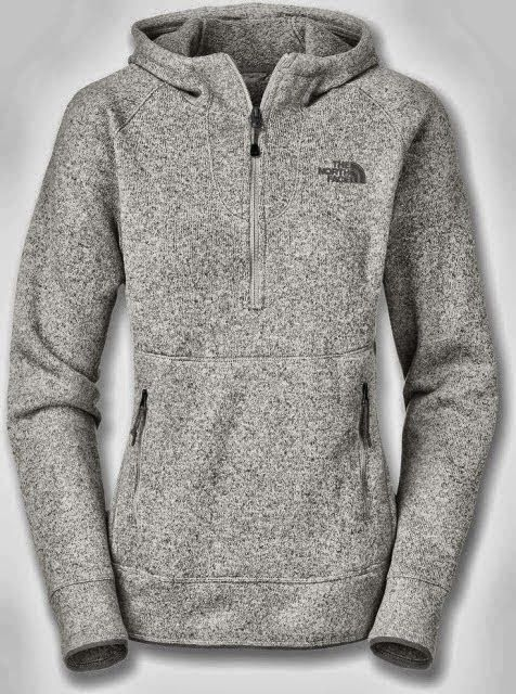 New Adorable Comfy Grey North Face Hoodie.  Well, this looks like the most comfortable thing in the world.