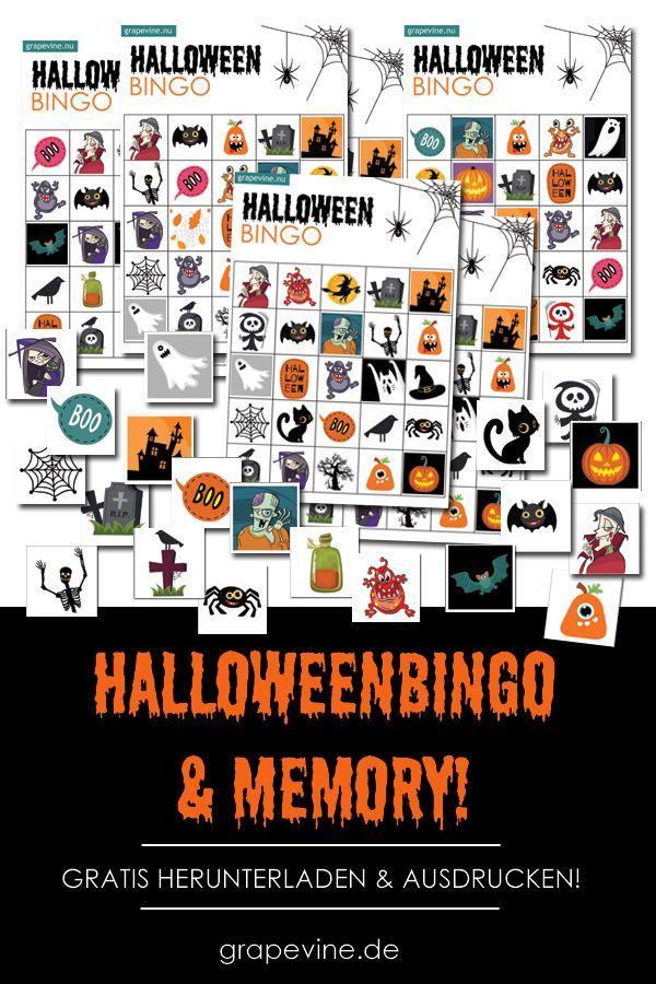 Halloweenbastelei Drucken Sie Spiele Karten Dekorationen Zu Halloween Kostenlos Aus Halloween Spiele Halloween Ausdrucken