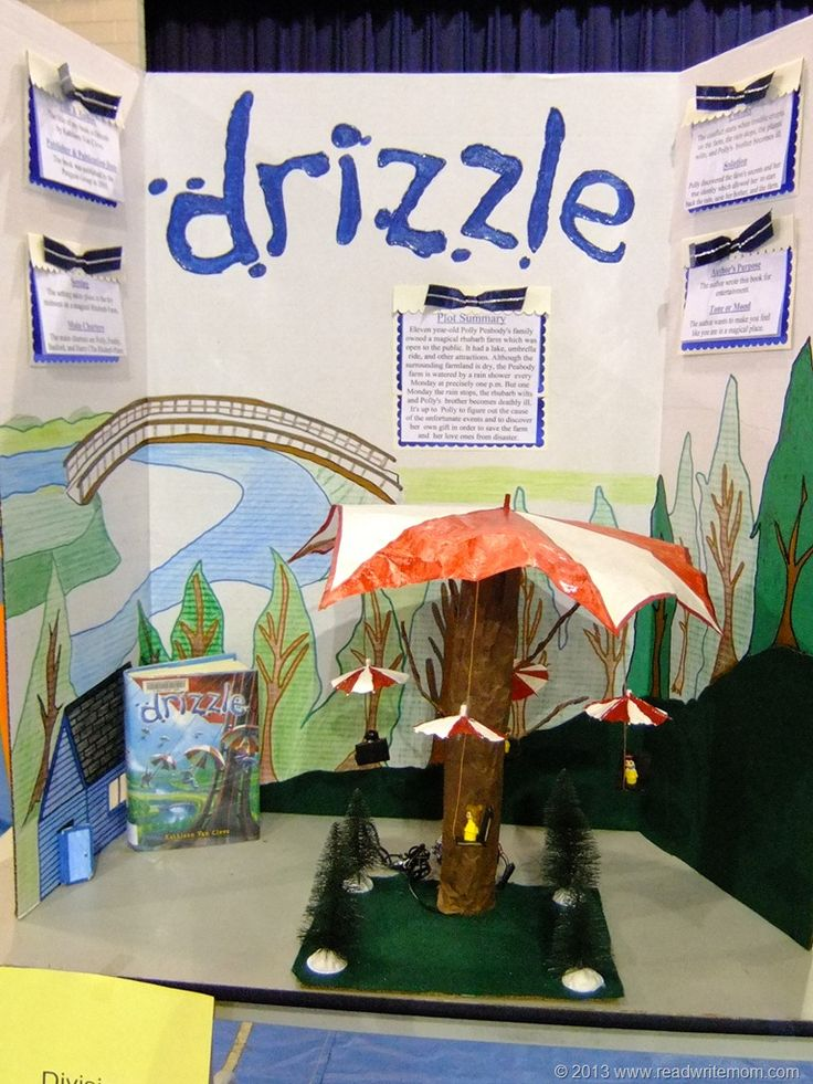 School Reading Fair Projects- 2013 | Read. Write. Mom! - A Mississippi Mom Blog
