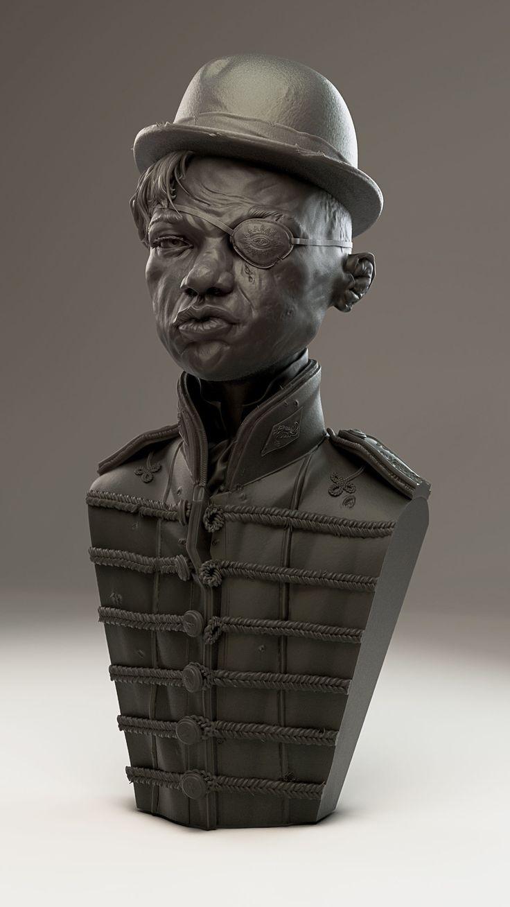 top 25 ideas about digital sculpts artworks ios artstation viola fieldfare james w cain