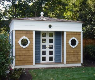 Small Pool Shed