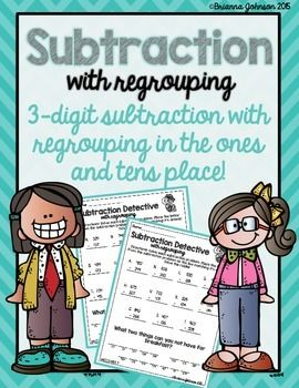 FREE - 3-Digit Subtraction with Regrouping math practice. Included are 2 Printables and 2 Answer Keys!