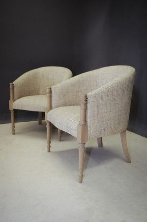 New York Tub Chairs made by Pierre Cronje