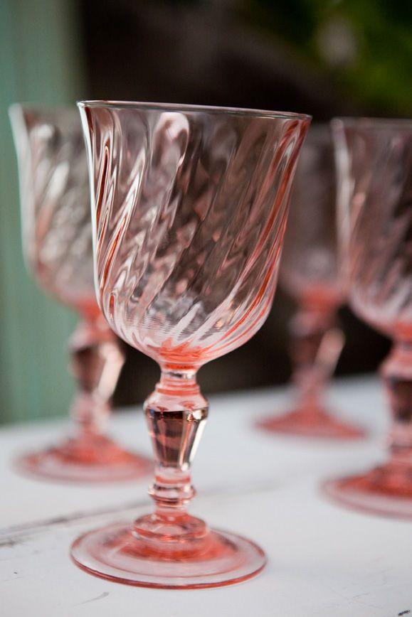 Best pink depression glass ideas on pinterest
