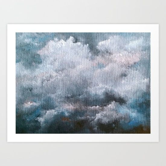 Above the Storm Art Print by Evie Dee - $23.00
