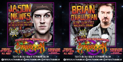 Jason Mewes and Brian OHalloran Announced for Astronomicon; Sid Haig Cancels
