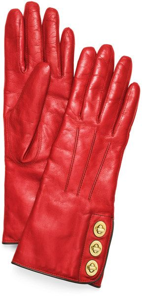 Coach Three Turnlock Gloves - Jeff gave these to me for Christmas!  They're fabulous!