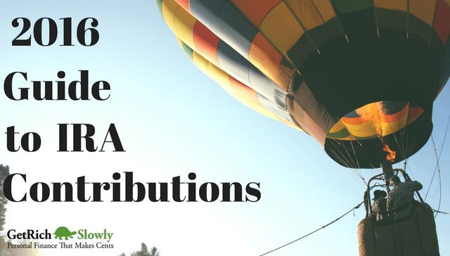 2016 Guide to IRA Contributions: limits, deadlines and deductions.